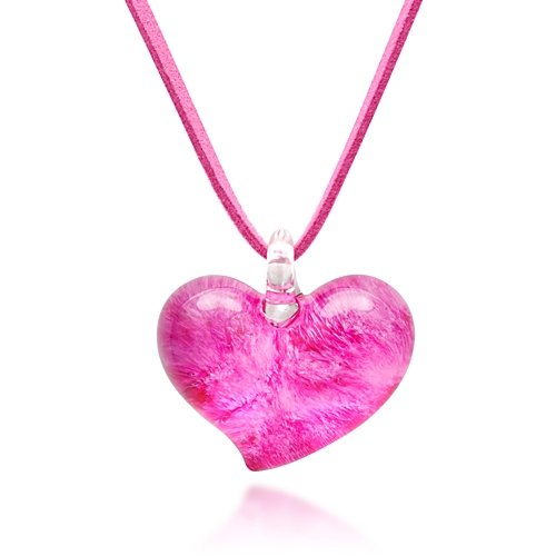 hand-blown-venetian-murano-glass-heart-shaped-pendant-necklace-18-20-inches