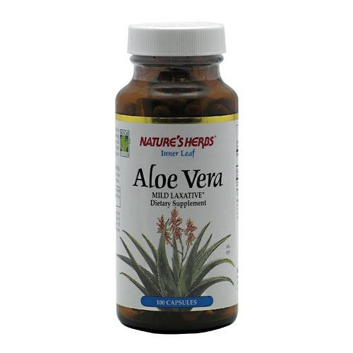NATURE'S HERBS, Aloe Vera Inner Leaf - 100 caps