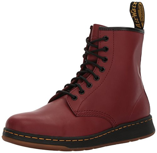 Dr. Martens Mens Newton Boot Cherry Red Temperley