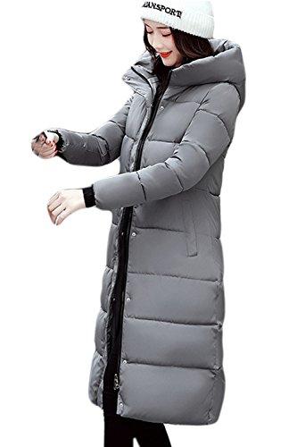 Doublés D'hiver Zilcremo Occasionnels Pour Les Polaire Épaissir Et 1 Chaud Parkas Femmes Taille À Manteaux La Midi wOXqOrS