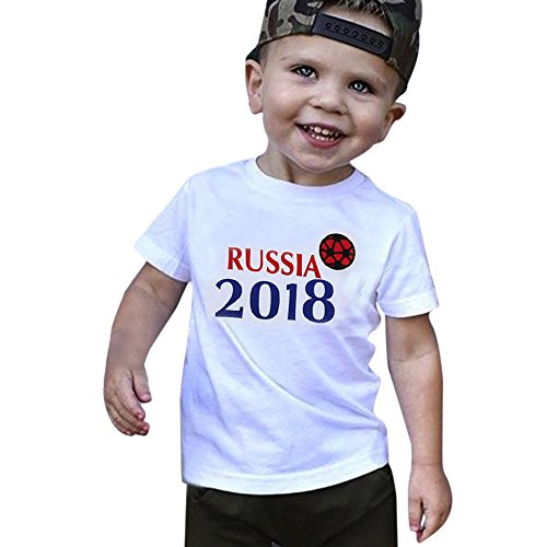 0fe447f334c7d Filles Courtes V Infantile B Football Chic Tops Shirt Russie ecirc;tements  eacute; ccedil;ons Gar ...