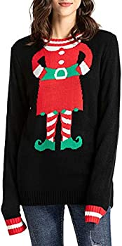 Yidarton Unisex Ugly Christmas Sweater