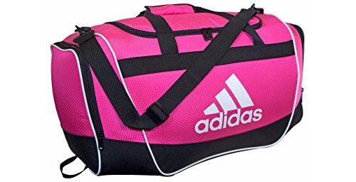 adidas Defender II Small Duffel Bag, Small, Shock - Women Bag Adidas