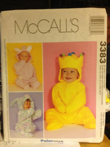 McCall's Infant Buntings Costumes #3383 All Sizes in