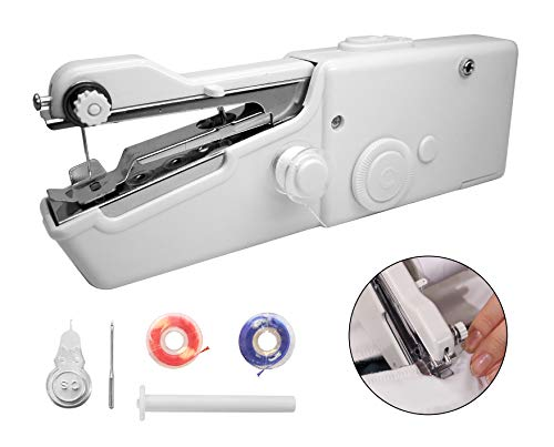 Find Bargain Magic Stitch Cordless, Portable, Handheld Sewing Machine, Cordless Electric Stitch Tool...