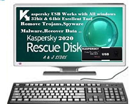 Amazon Com Kaspersky Bootable Usb Pc Antivirus Repair Windows