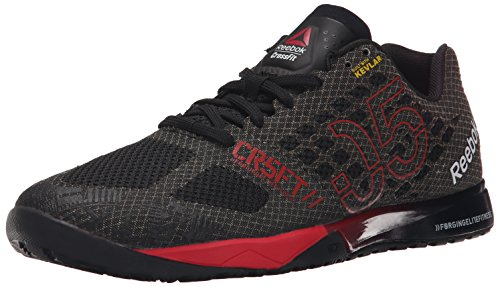 Reebok Men's Crossfit Nano 5.0 Training Shoe, Black/Motor Red/Shark/White, 7.5 M US