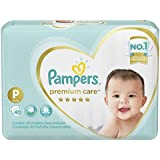 Fralda Pampers Premium Care, 40 Unidades, P