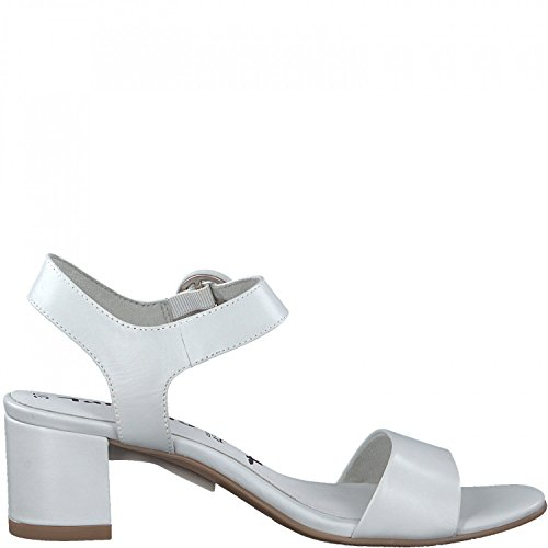 Tamaris 1-28324-20 Sandales Mode Femme Weiß uZkeMNm