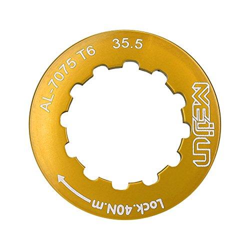 VGEBY Cassette Lockring for 7-11 Speed Mountain Bike (Gold)