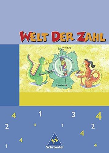 Welt der Zahl - Ausgabe 2004 Berlin, Brandenburg, Bremen, Mecklenburg-Vorpommern, Sachsen-Anhalt und Thüringen: Schülerband 4