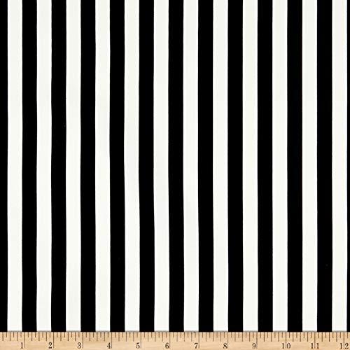 Riley Blake Designs In Bloom Stripe Black