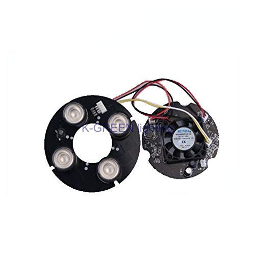 Jammas 10X High Power led 850nm Infrared Illuminated Board Plate with The Fans for CCTV Camera