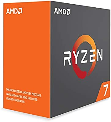 90b258a924d Amazon.com: AMD Ryzen 7 1800X Processor (YD180XBCAEWOF): Computers &  Accessories