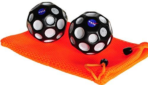 Waboba NASA High Bounce Moon Ball Bundle of 2 _w Orange ()