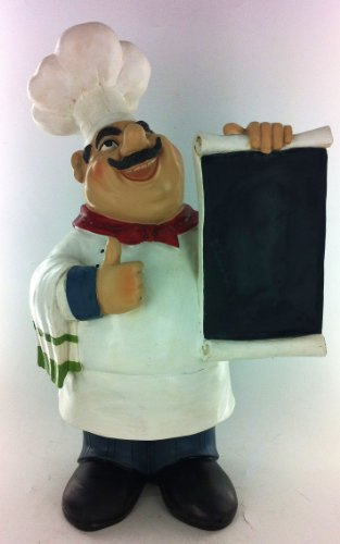 Chef Kitchen Chalkboard