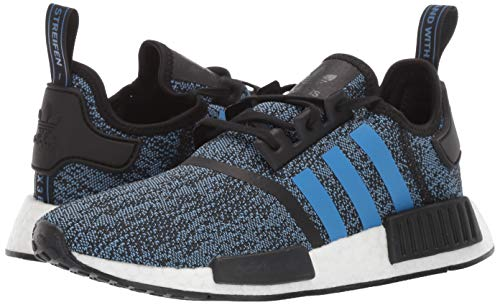 adidas Originals NMD_R1 Running Shoe True Blue/Utility Black, 4 M US Big Kid by adidas Originals (Image #5)