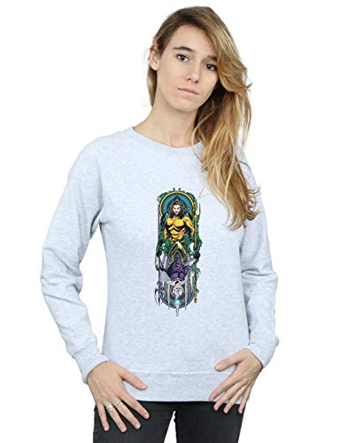 Gris Dc Ocean Mujer Entrenamiento Camisa Deporte Comics De Master Aquaman 7R4xCzw7q