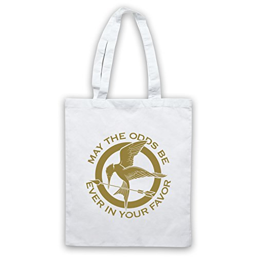 Hunger Games Odds Ever In Your Favor Bolso Blanco