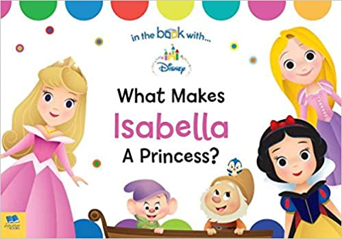 what makes me a princess personalized board book disney