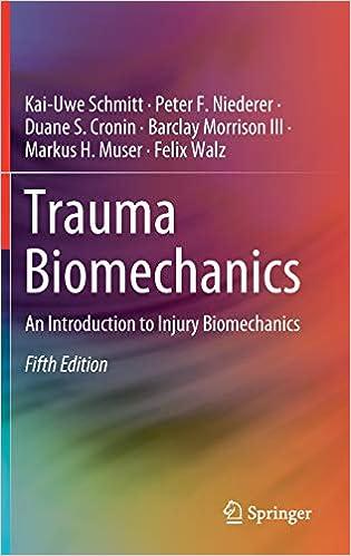 Trauma Biomechanics: An Introduction To Injury Biomechanics por Kai-uwe Schmitt epub