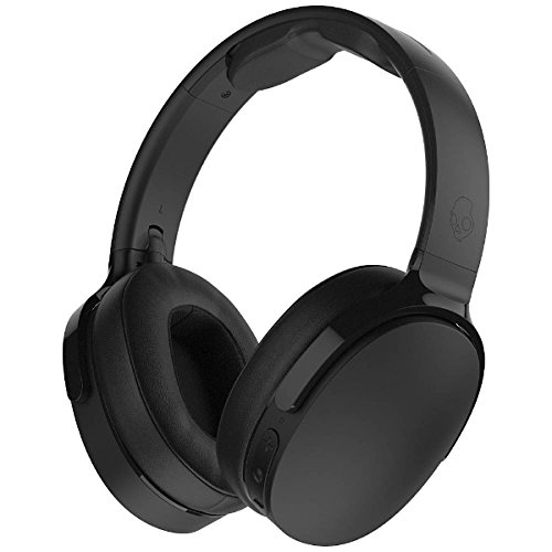 - Skullcandy Hesh 3 Bluetooth Wireless Over-Ear Headphones with Microphone, Rapid Charge 22-Hour Battery, Foldable, Memory Foam Ear Cushions for Comfortable All-Day Fit, Black