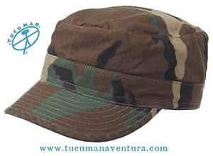 Tucuman Aventura - Gorra camuflaje airsoft