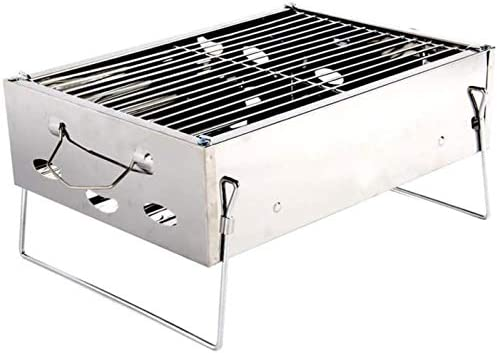 Barbecue HZY Lumière Portable Pliable Grill for Cuisine de Plein air Camping Randonnée Pique-Nique Party360mm