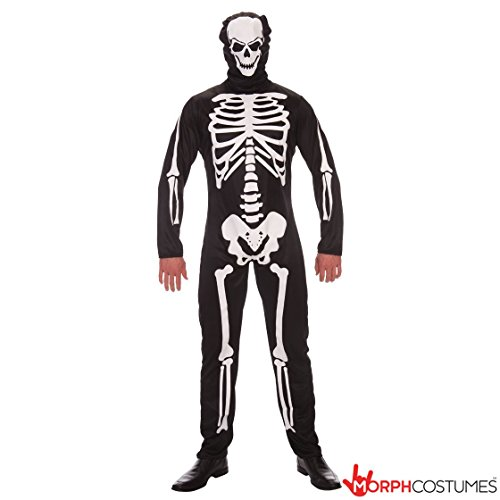 Mens  (Spooky Skeleton Costumes)