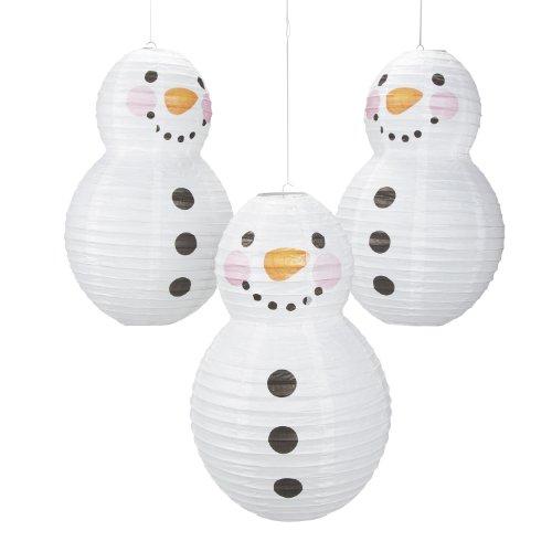 UPC 886102613627, Snowman Shaped Paper Lantern