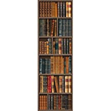 Velvet Decor Old Golden Bookshelves