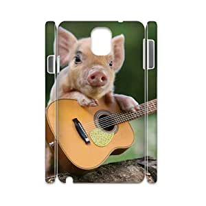 J-LV-F Diy case Cute Pig customized Hard Plastic case For samsung galaxy note 3 N9000