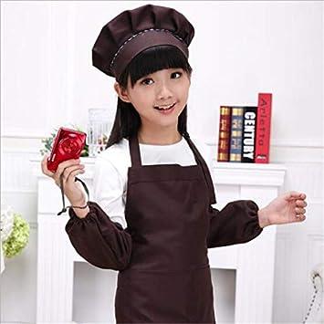 Cute Kids Children Kitchen Baking Painting Apron Baby Art Cooking Craft Bib