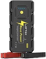 LOFTEK 2200A Peak 20800mAh Car Jump Starter (Up to 8.0L Gas or 6.5L Diesel Engine), 12V Portable Power Pack Auto Battery...