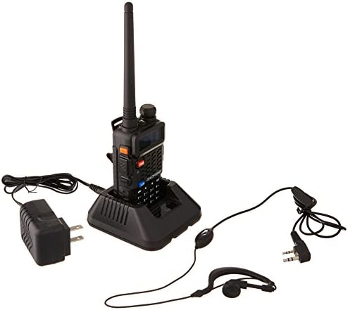 BaoFeng BF-F8 Dual-Band 136-174 400-520 MHz Two-Way Radio Transceiver- Black