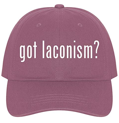 The Town Butler got Laconism? - A Nice Comfortable Adjustable Dad Hat Cap, Pink