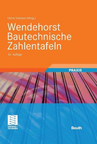 wendehorst-bautechnische-zahlentafeln