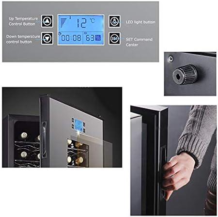EVEN Wine Refrigerator Incorporado o Independiente 180L, Wine Cooler/Chiller, Control táctil, Baja vibración, bajo Nivel de Ruido