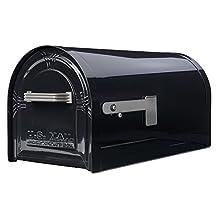 Solar Group WM16KB01 Large Lockable Decorative Mailbox (Black)
