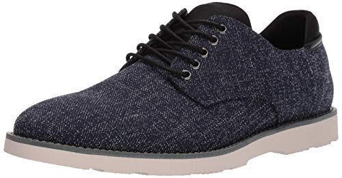Dr. Scholl's Shoes Men's Flyby Oxford, Navy Heathered Canvas, 8 M US