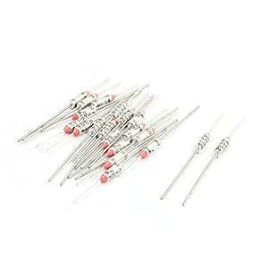 20 Piezas RY Serie Metal TF 216 Grados centígrados 250V 10A Corte Fusible Térmico