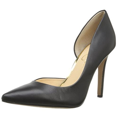 Jessica Simpson Claudette Women's D'Orsay Pumps Shoes Black Size 12 ()