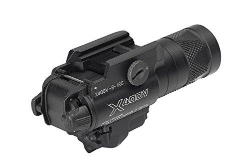 SureFire X400 Ultra Series LED WeaponLights w/Built-in Laser Sight, TIR Lens