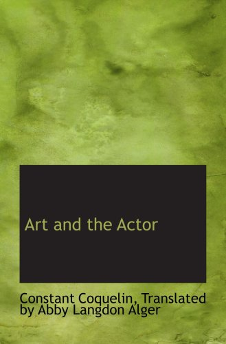 Art and the Actor pdf epub