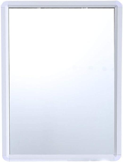 Amazon.com: Bathroom Wall Mirror, Rectangle White Frame ...
