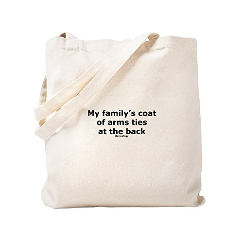 CafePress - Coat Of Arms - Natural Canvas Tote Bag, Cloth Shopping Bag by CafePress (Image #2)