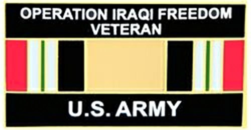 US Army Iraq Veteran Lapel Pin or Hat Pin - Us Army Veteran Hat Pin