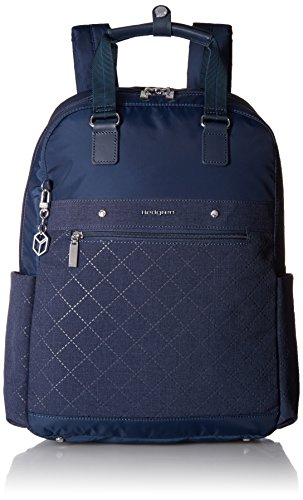 Hedgren Diamond Star Ruby Backpack, 13'' Laptop Compartment, Luggage Handle Sleeve, 16 x 11.4 x 5 Inches, Womens, Dress Blue by Hedgren