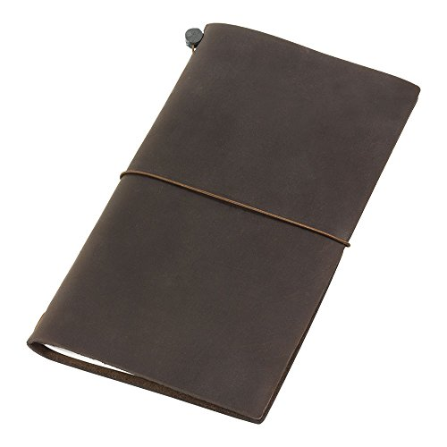 Traveler's Notebook Brown Leather (1, 1 - Leather Traveler Brown