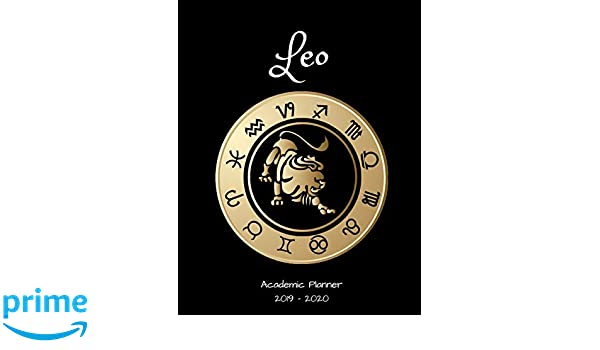 Leo 2019 - 2020 Academic Planner: An 18 Month Weekly ...